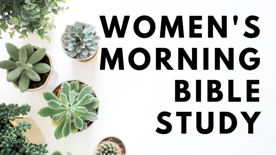 Women's Morning Bible Study